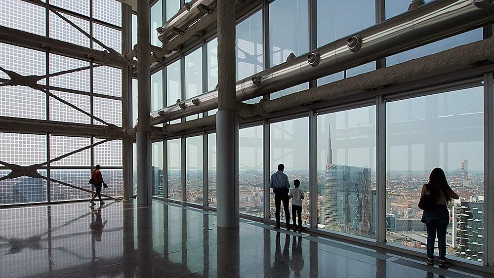 Palazzo Lombardia, Milano. Pei Cobb Freed & Partners, Caputo Partnership, SDPartners