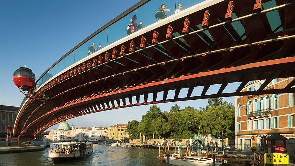 Venezia, Ponte della Libertà. Arch. Santiago Calatrava