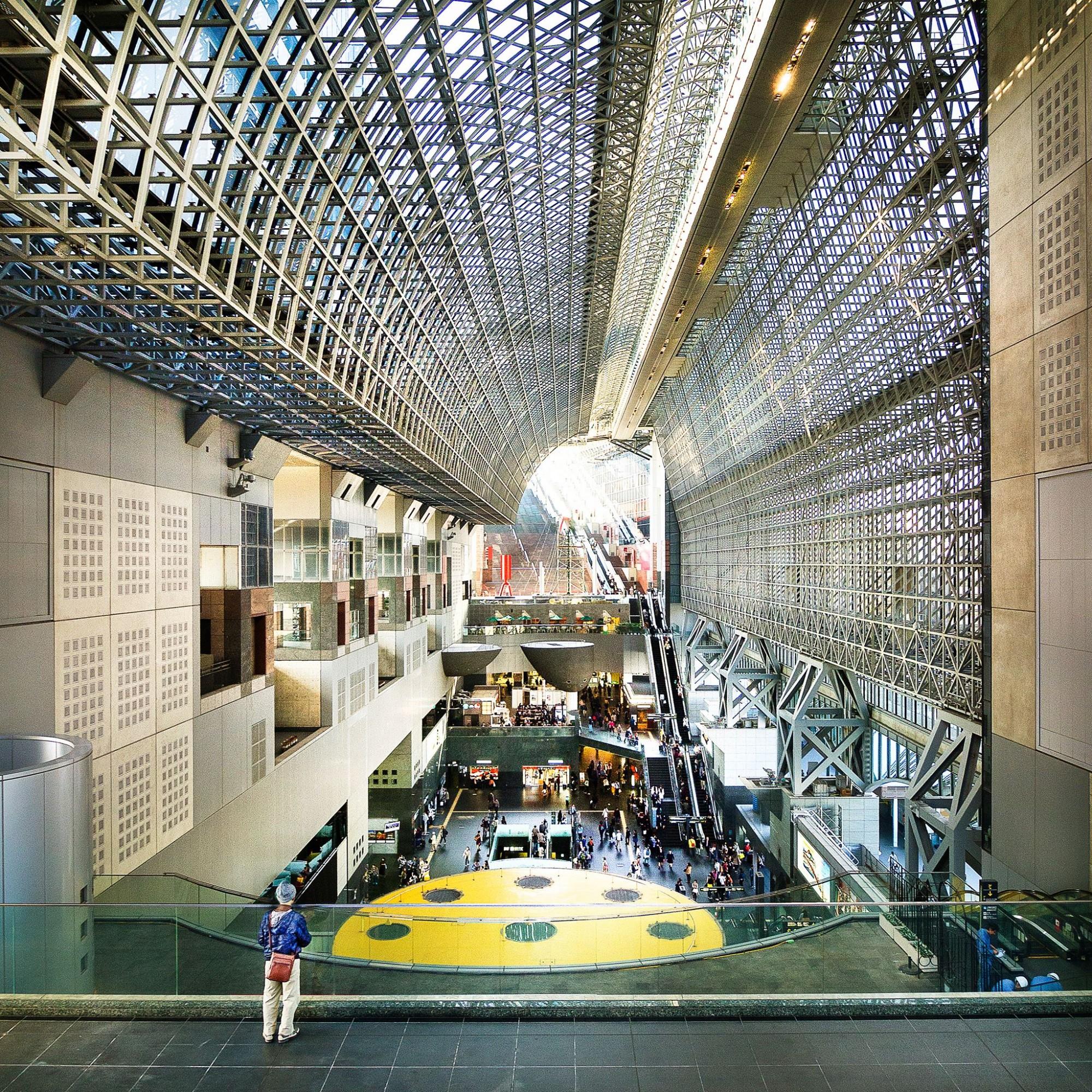Kyoto Station. Arch. Hiroshi Hara