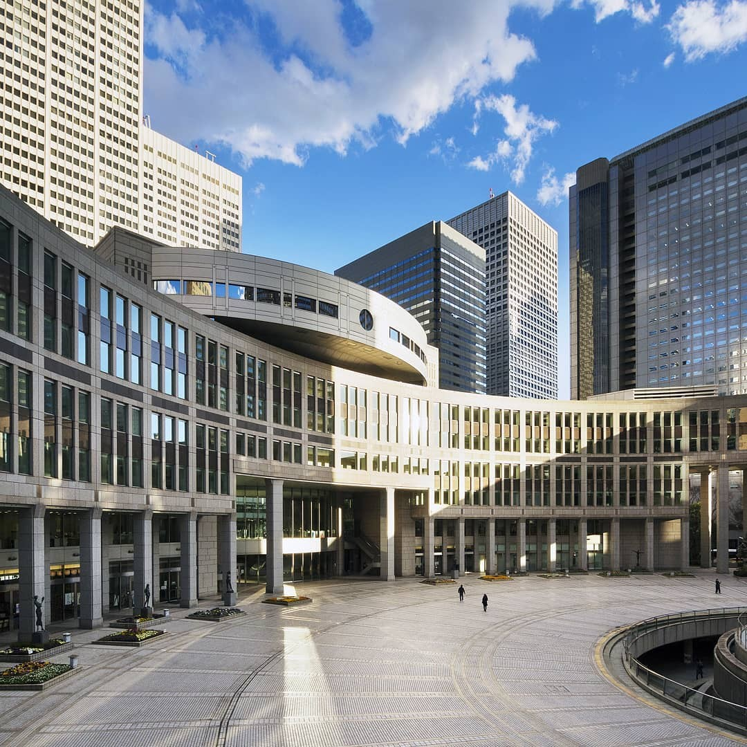 Tokyo Metropolitan Goverment Building, Assembly. Arch. Kenzõ Tange