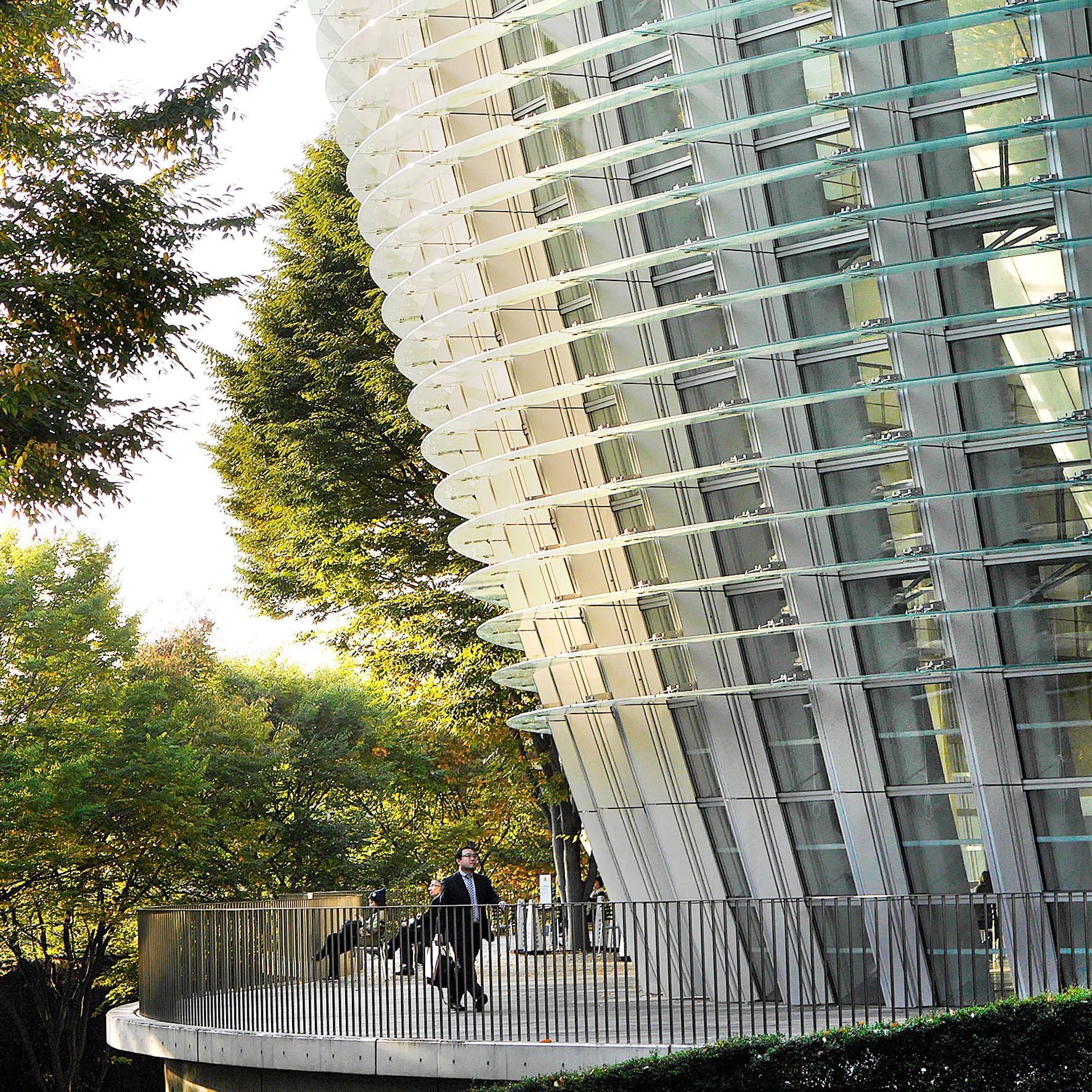 National Art Center, Tokyo. Arch. Kishō Kurokawa