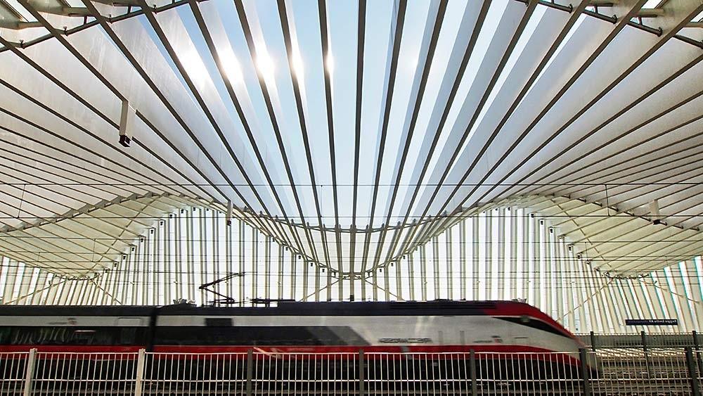 Stazione AV, Reggio Emilia. Arch. Santiago Calatrava