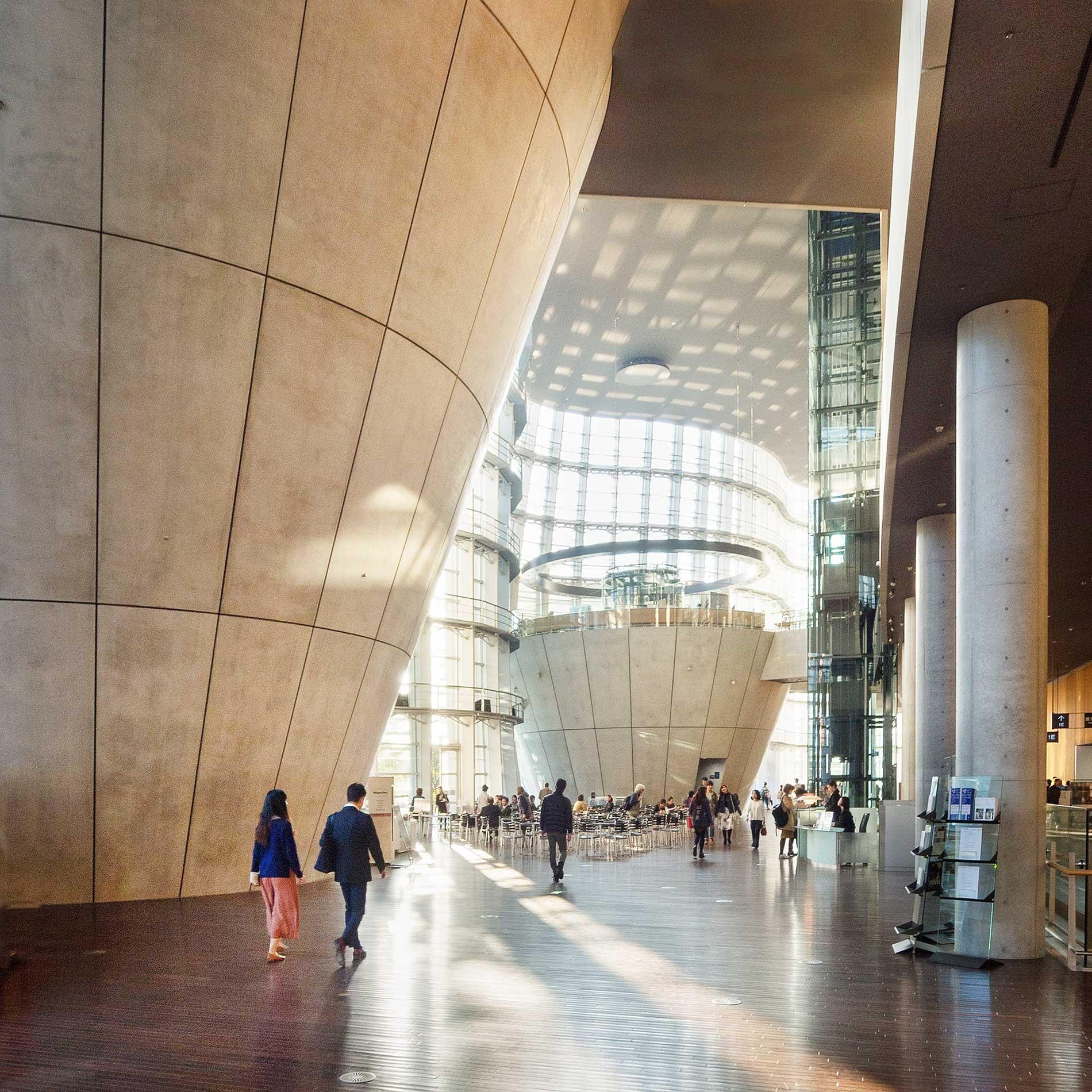 日本 Arch. Kishō Kurokawa, National Art Center, Tokyo