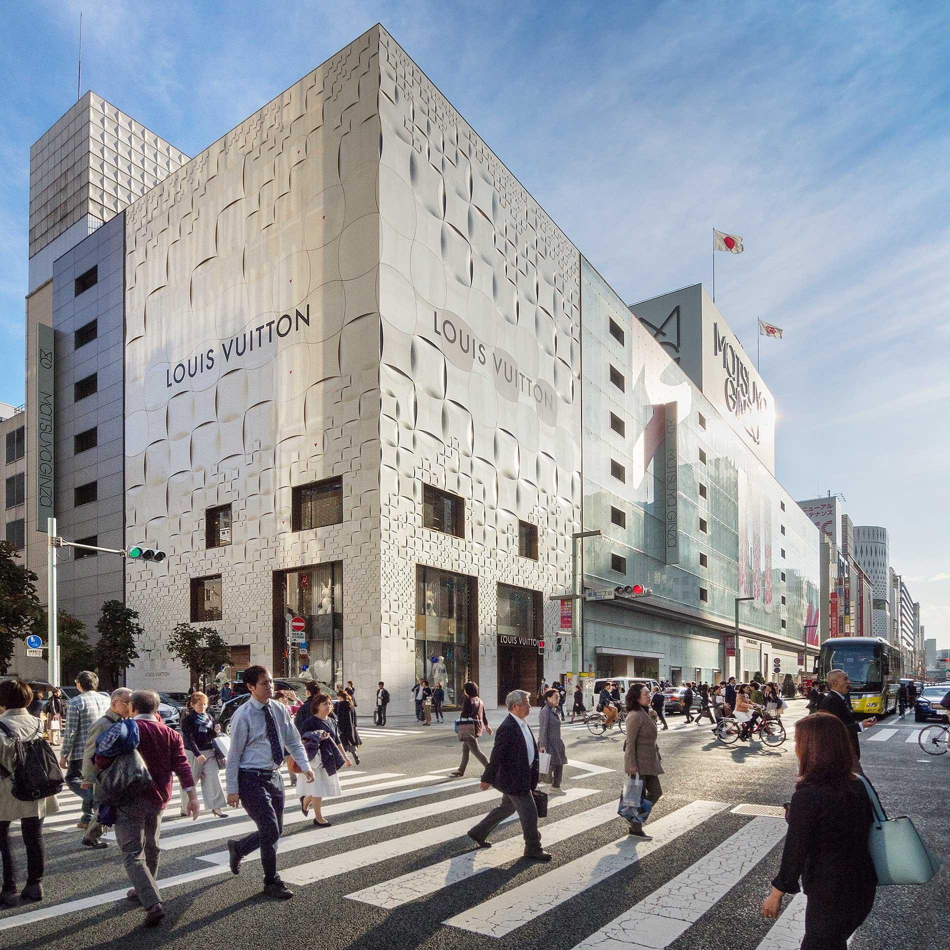 日本 Studio Aoki Jun and Associates, Louis Vuitton Ginza, Tokyo