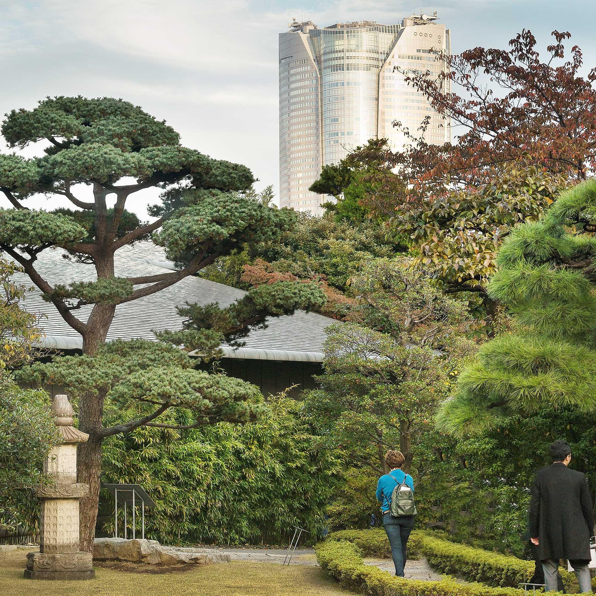 日本 Studio Kohn Pedersen Fox Associates, Mori Tower, Rappongi Hills, Tokyo