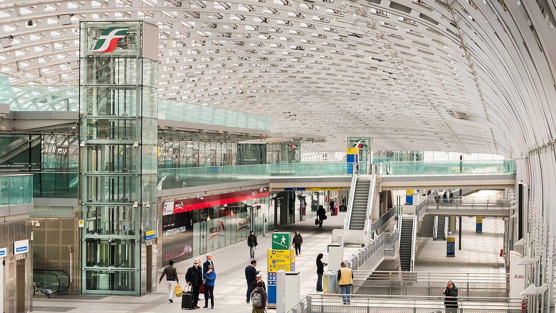 NEW ITALY - Arch. J.M.Duthilleul, E.Tricaud, S.Ascia, A.agnaghi. Stazione di Porta Susa, Torino