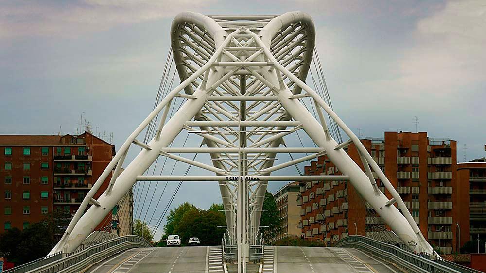 Roma, Ponte delle Scienza. Arch. Gianluca Andreoletti