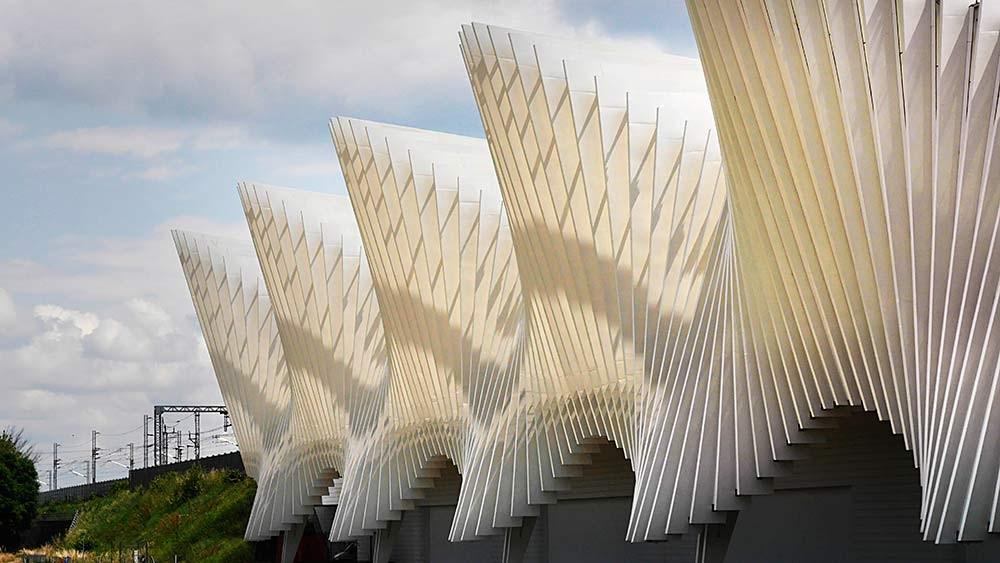 NEW ITALY - Arch. Santiago Calatrava, Stazione di Reggio Emilia.