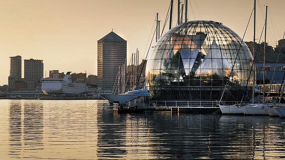Porto di Genova. Arch. Renzo Piano