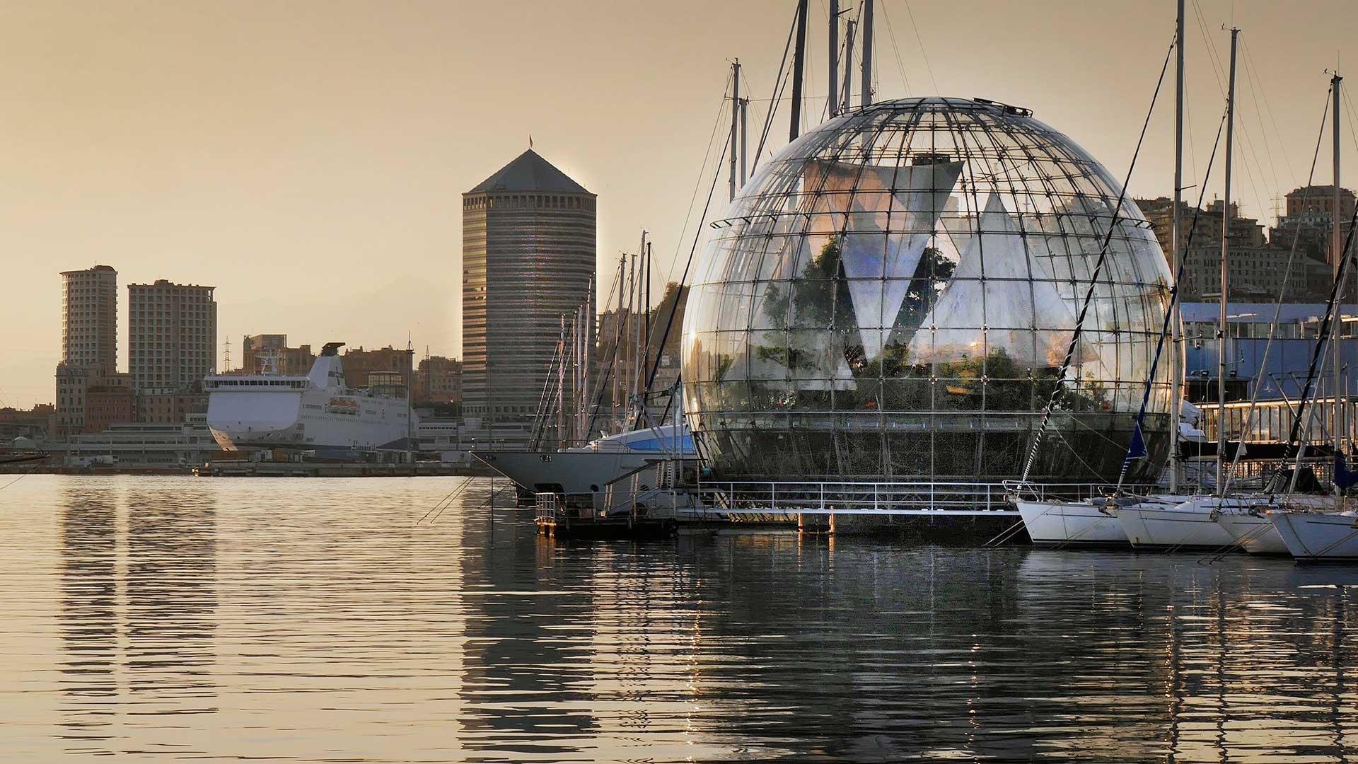 NEW ITALY - Arch. Renzo Piano, Porto di Genova