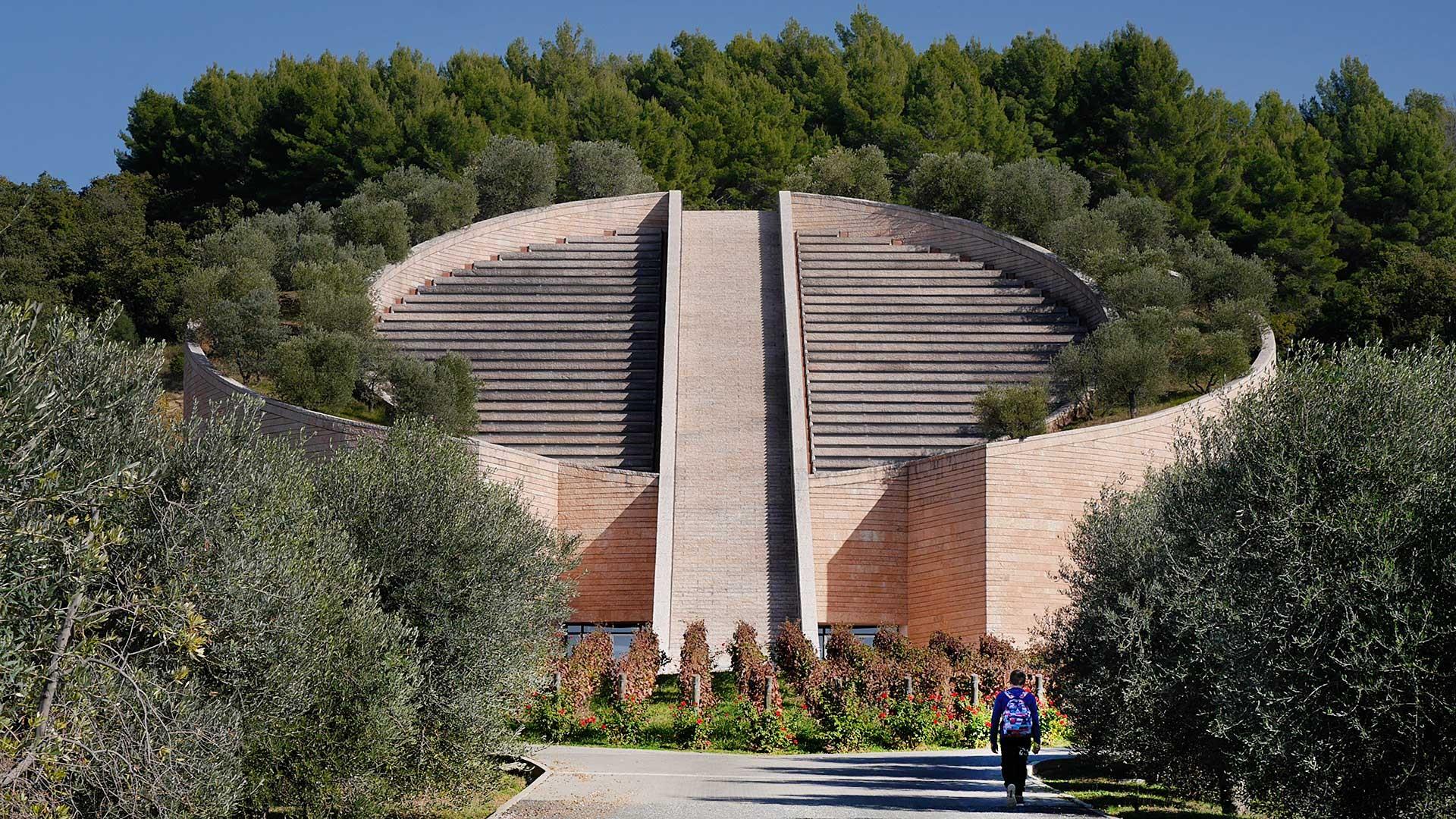 NEW ITALY - Arch. Mario Botta, Cantina Petra, Suvereto