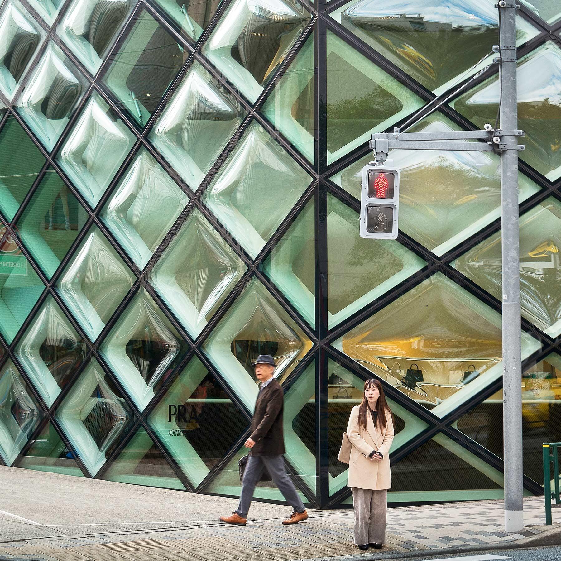 日本 Arch. J.Herzog and P.de Meuron, Prada Store Omotesando, Tokyo