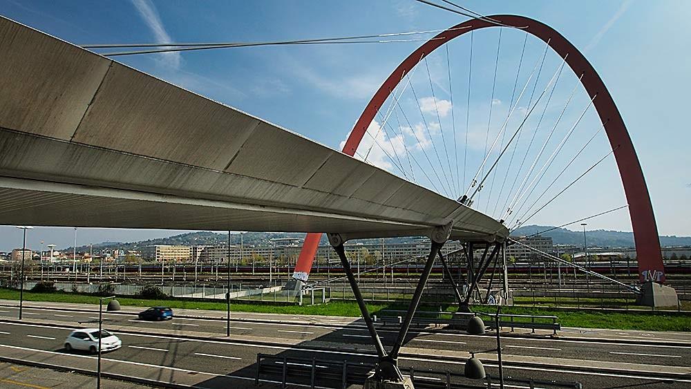 Torino, Passerella Olimpica. Arch. Hugh Dutton