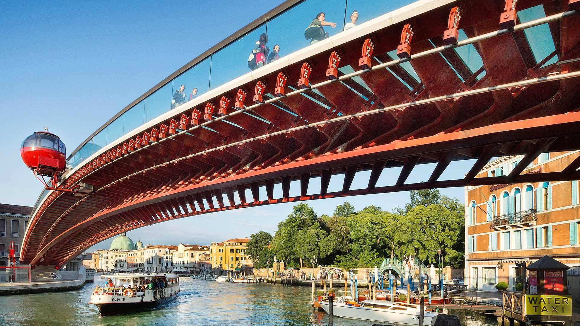 NEW ITALY - Arch. Santiago Calatrava, Ponte della Libertà, Venezia