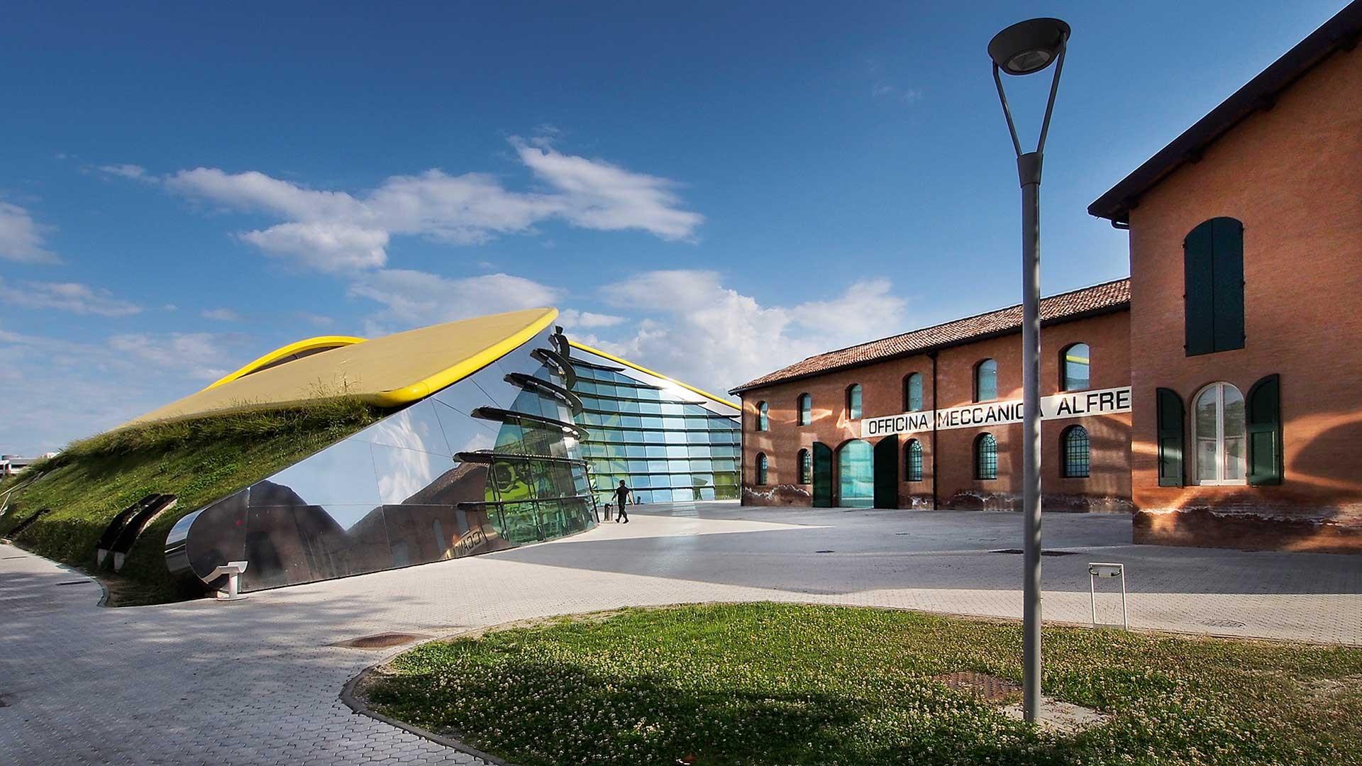 NEW ITALY - Arch. Jan Kaplický, Museo Enzo Ferrari, Modena