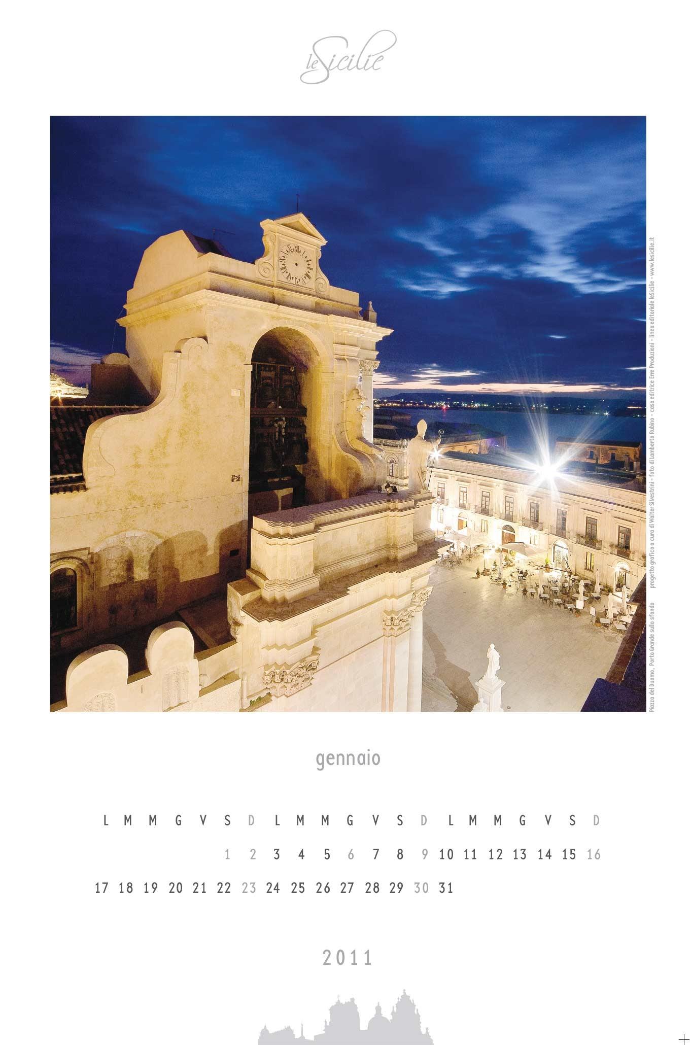 Isola di Ortigia- art calendar2011