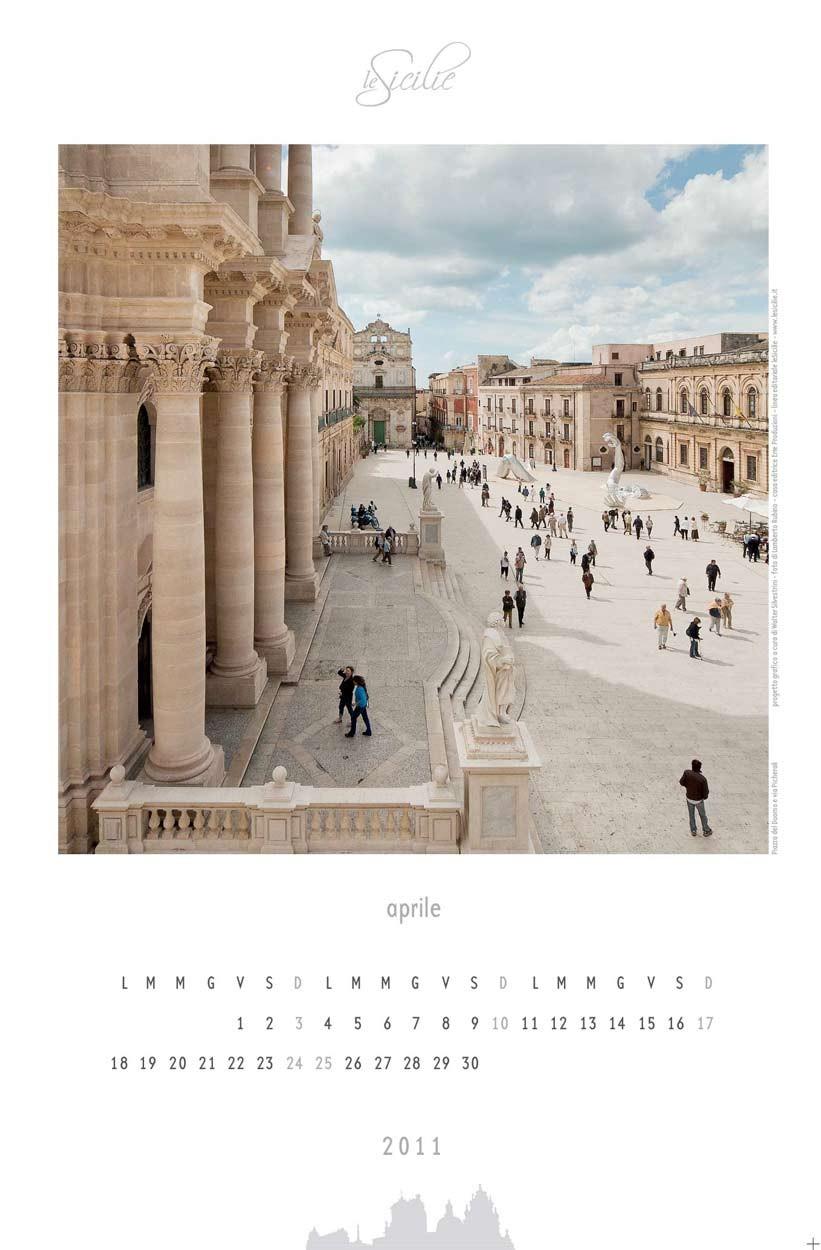 Isola di Ortigia - art calendar 2011