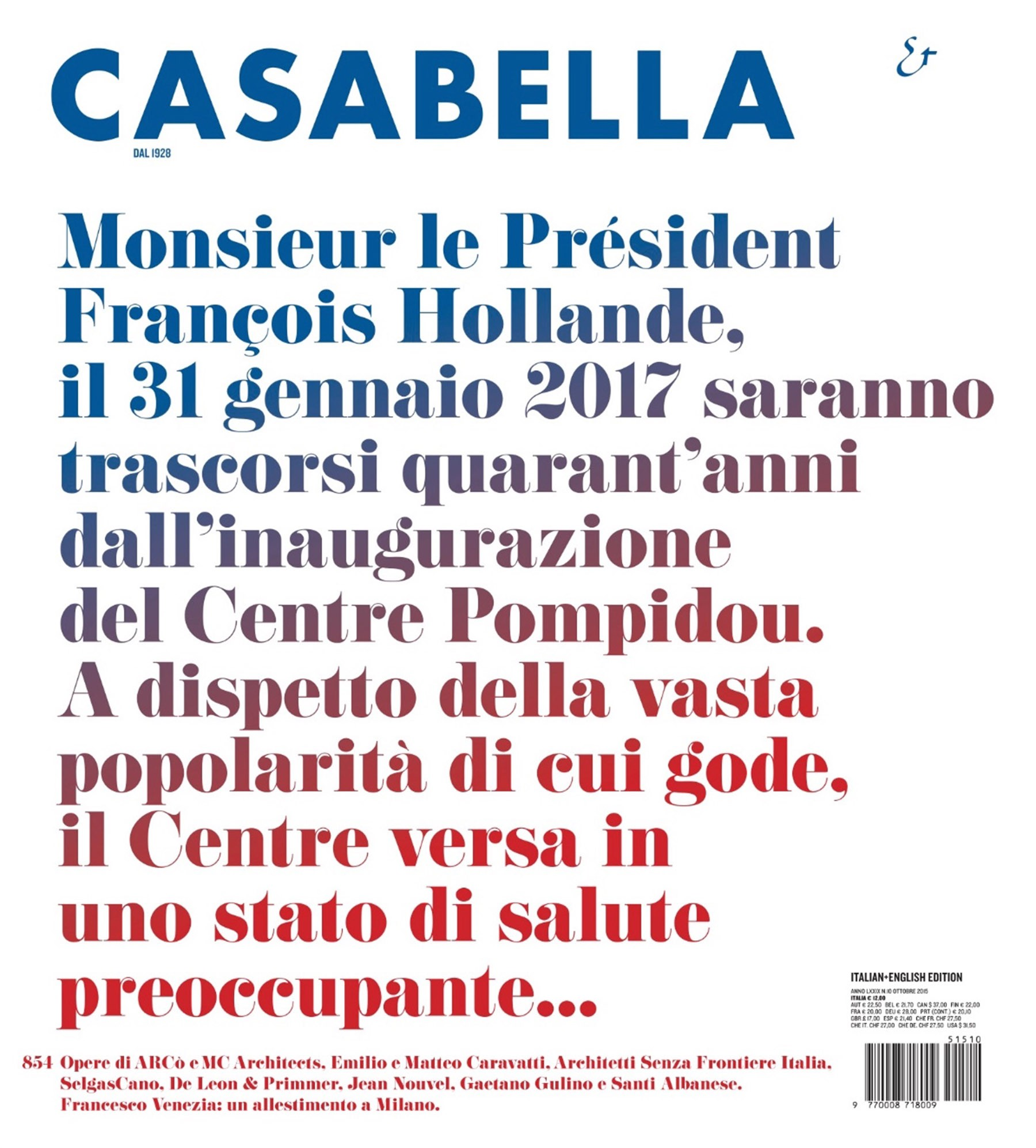 Casabella 854