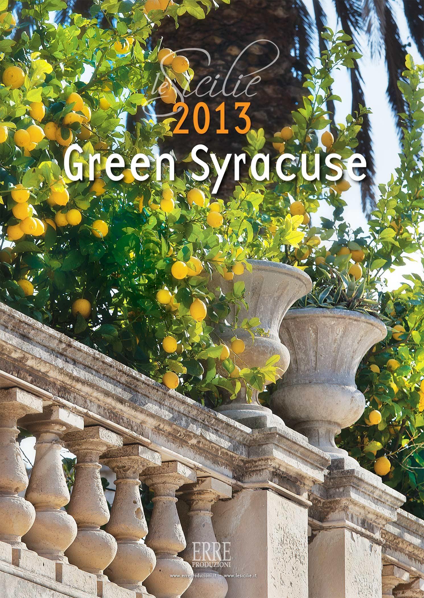 Green Syracuse - art calendar2013