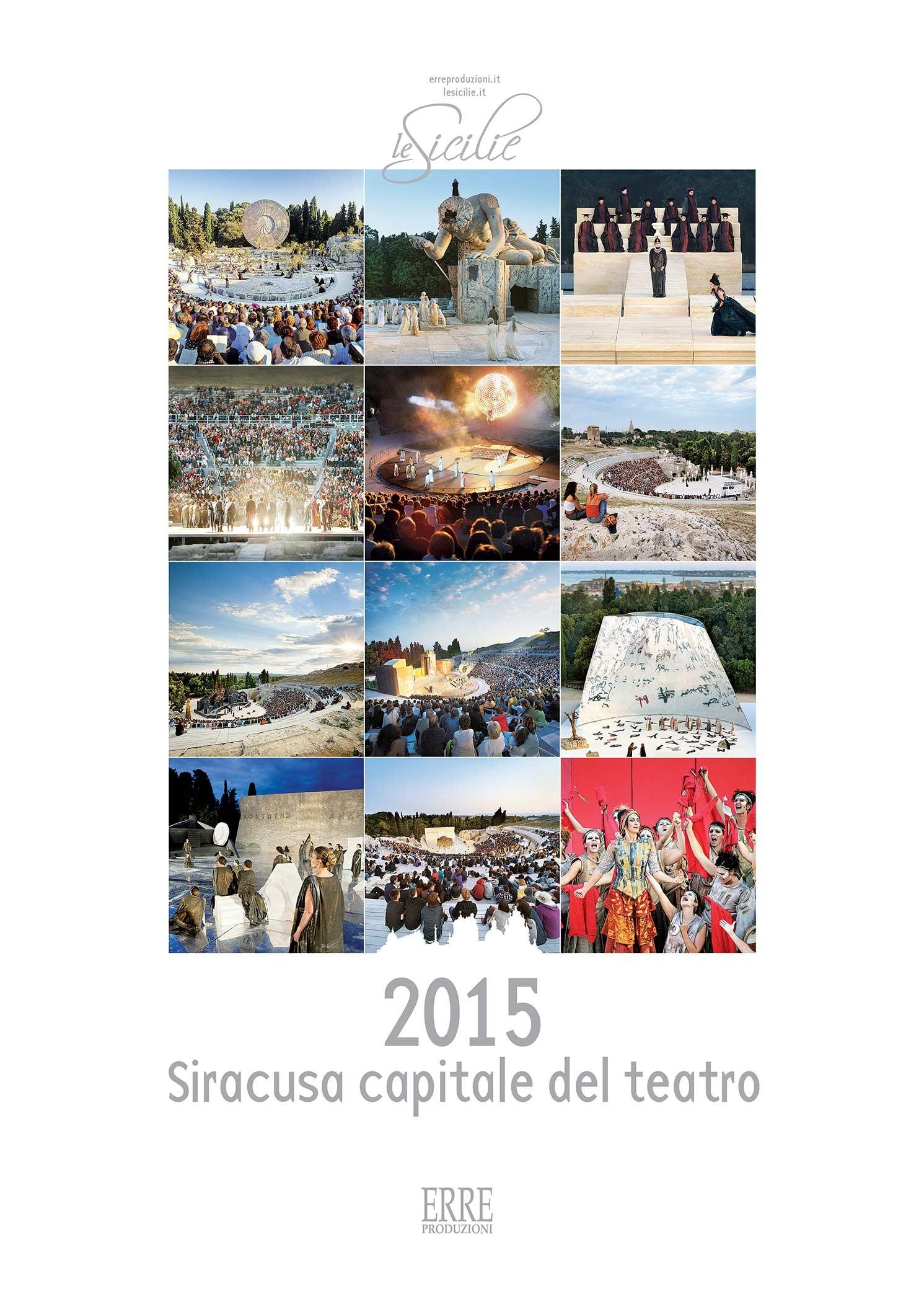 Siracusa Capitale del teatro- art calendar2014/15